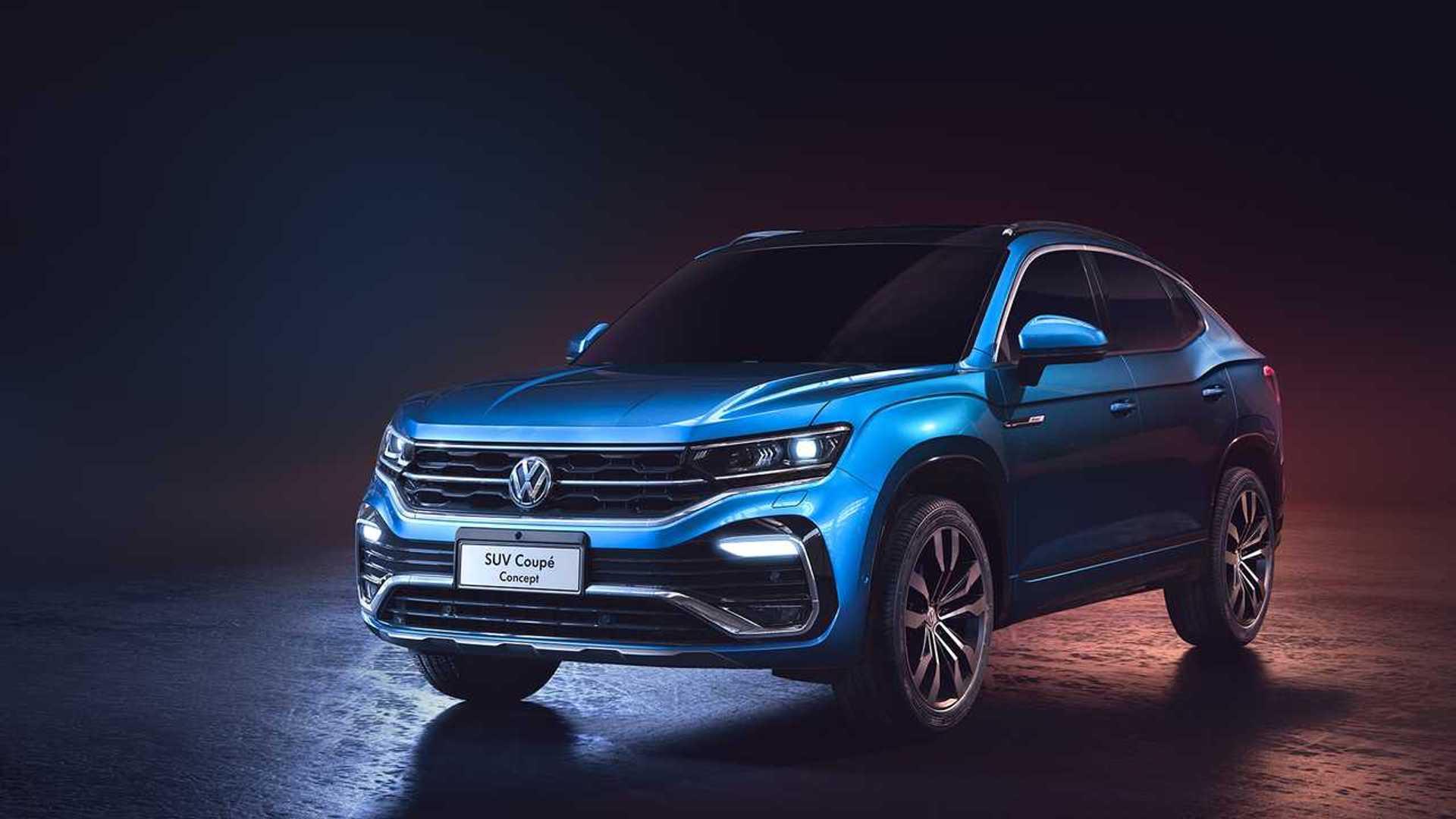 Volkswagen показал в Китае SUV Coupe Concept