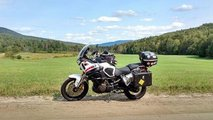 traveling by motorcycle hard or soft luggage