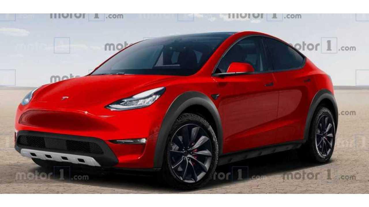 Tesla Model Y réinventé comme un véhicule tout-terrain robuste