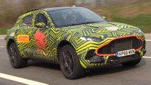 aston martin dbx nurburgring video