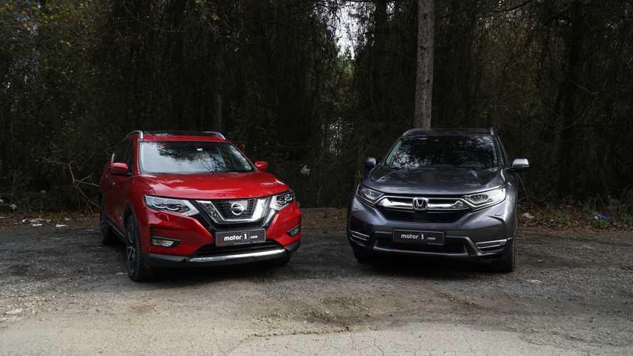 Karşı Karşıya: Nissan X-Trail vs Honda CR-V