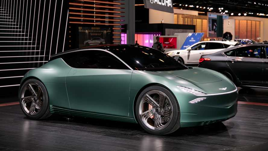 Genesis Mint Concept, la city car elettrica a due posti