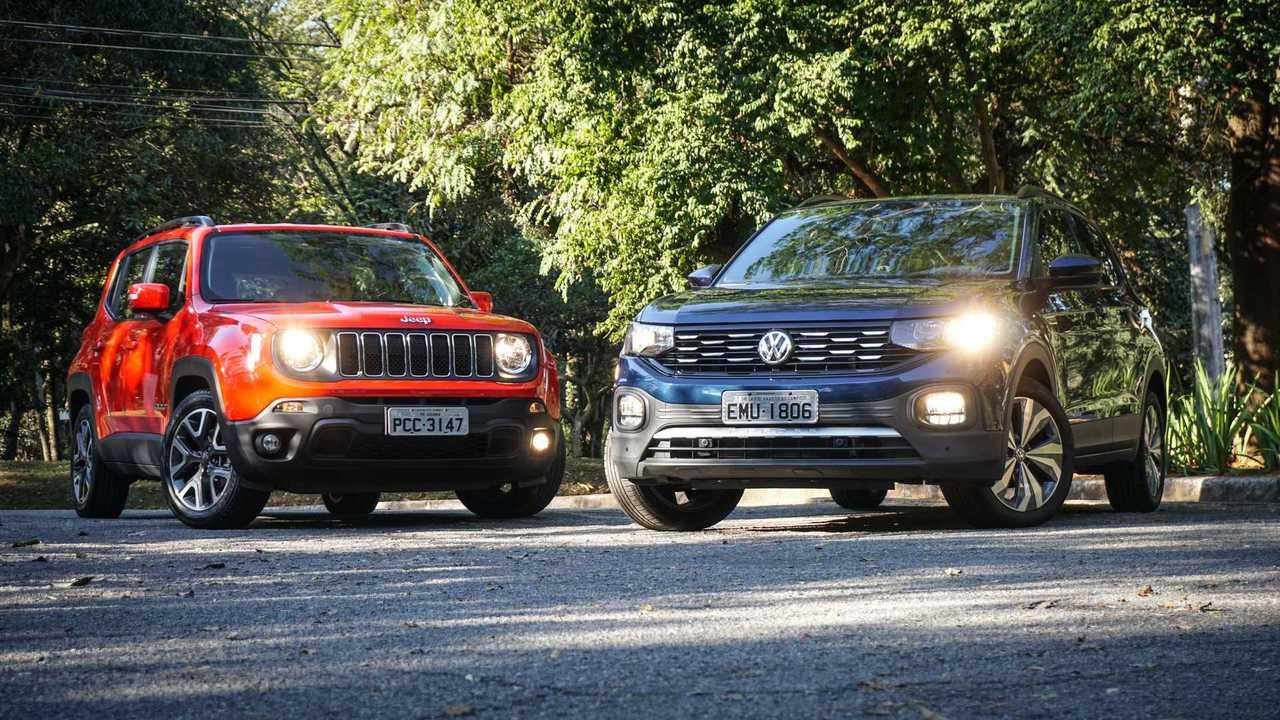 VW T-Cross x Jeep Renegade