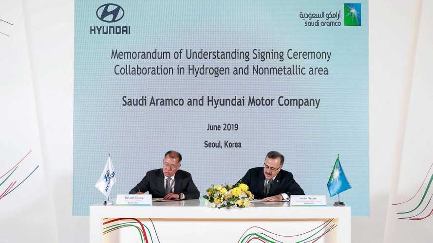 Hyundai Signs Deal To Develop Hydrogen: With An Oil Company