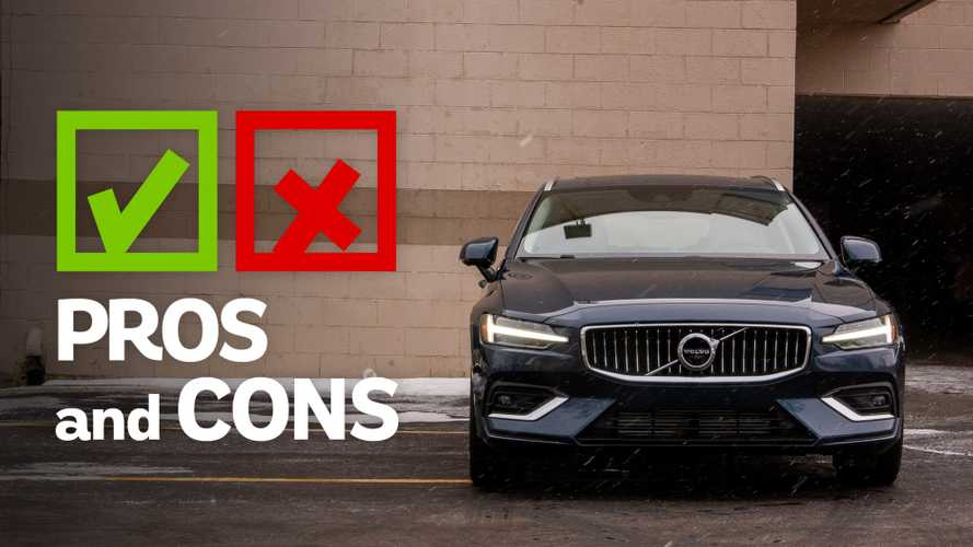 2019 Volvo V60: Pros And Cons