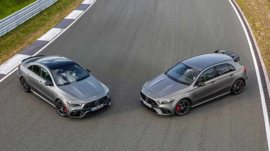Mercedes-AMG A45 S and CLA 45 S storm into Goodwood with 416 bhp