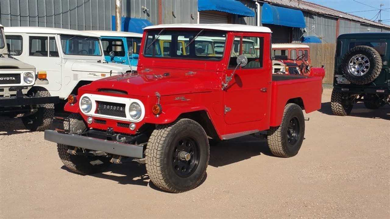 Pair Of Fully Restored And Upgraded Toyota FJs
