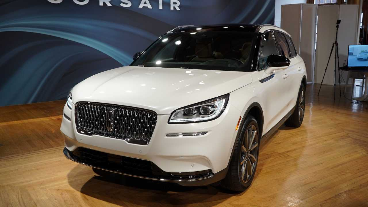2020 Lincoln Corsair Debut