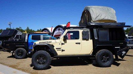 Hellcat-Powered, 2-Door Jeep Gladiator Makes For Mean Overlander