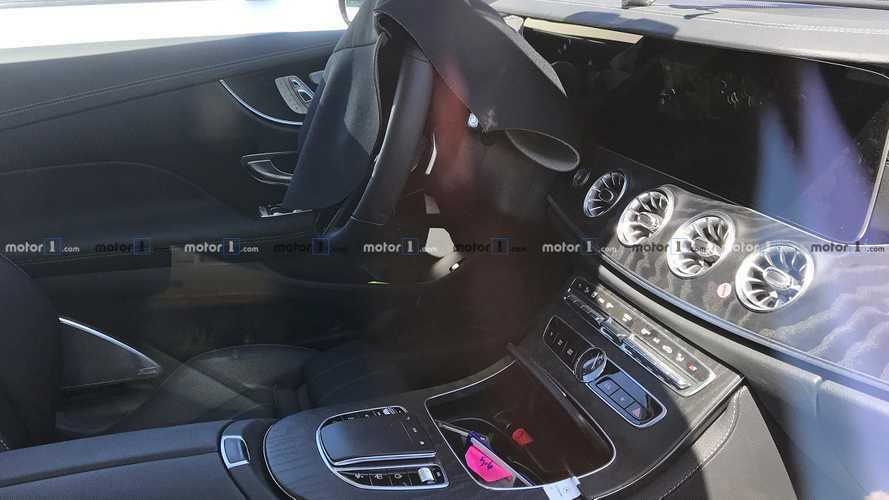 New Mercedes-Benz E-Class Coupe Spy Shots