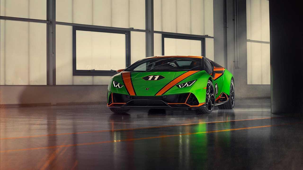 Lamborghini Aventador SVJ 63 Roadster ve Huracan Evo GT Celebration