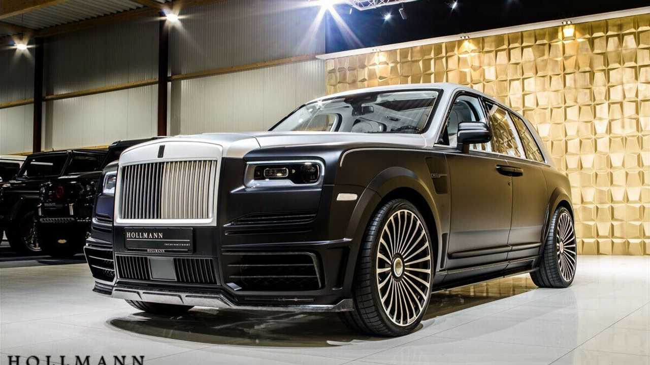 Rolls-Royce Cullinan - Mansory
