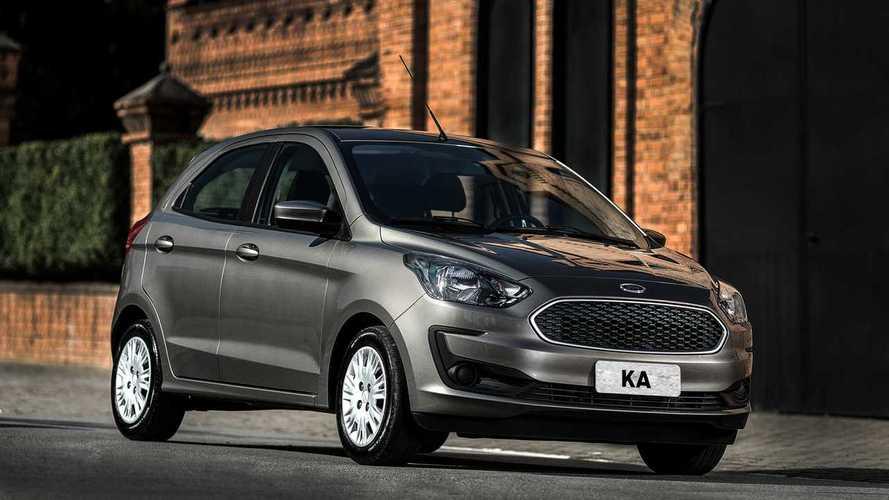 Ford convoca 143.514 unidades de Ka e Ka Sedan por risco de incêndio