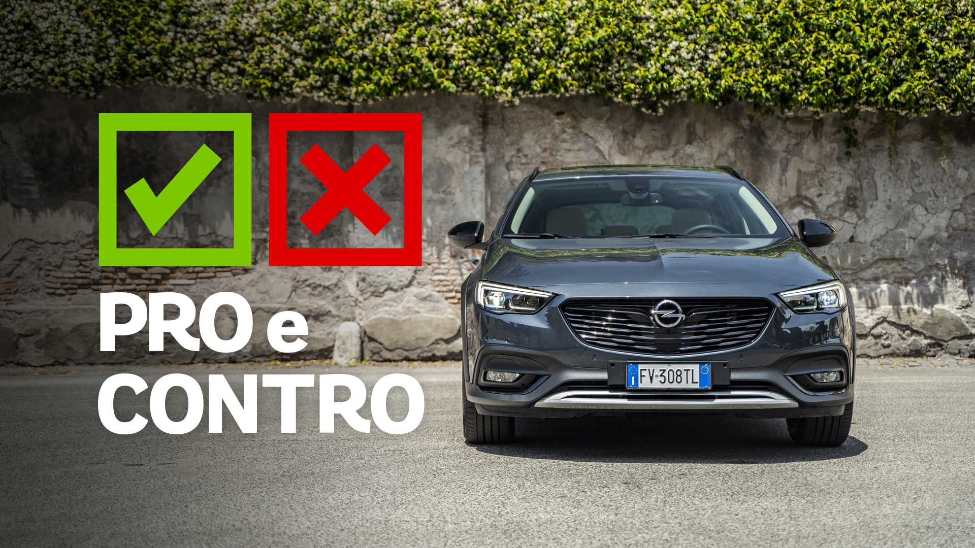 Opel Insignia 2.0 BiT Country Tourer, pro e contro