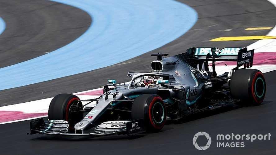 2019 Fransa GP: Sıralamada Mercedes üstünlüğü var
