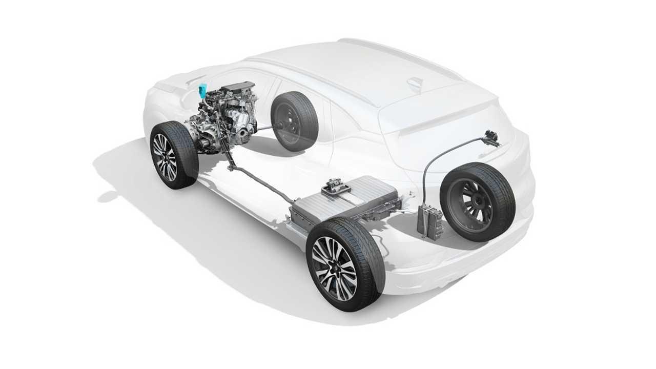 Renault Captur E-TECH Eklentisi