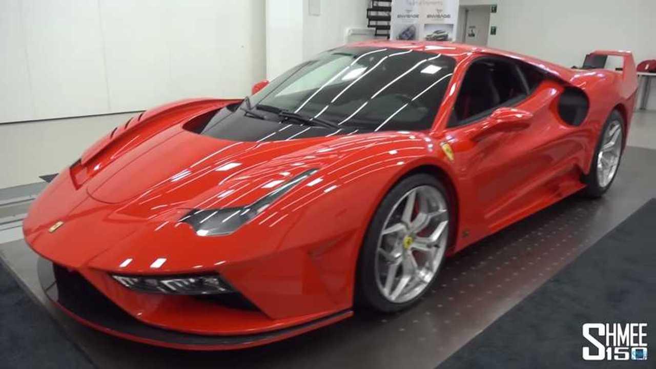 Ferrari 7X Design GTO Vision 488 GTB alapján