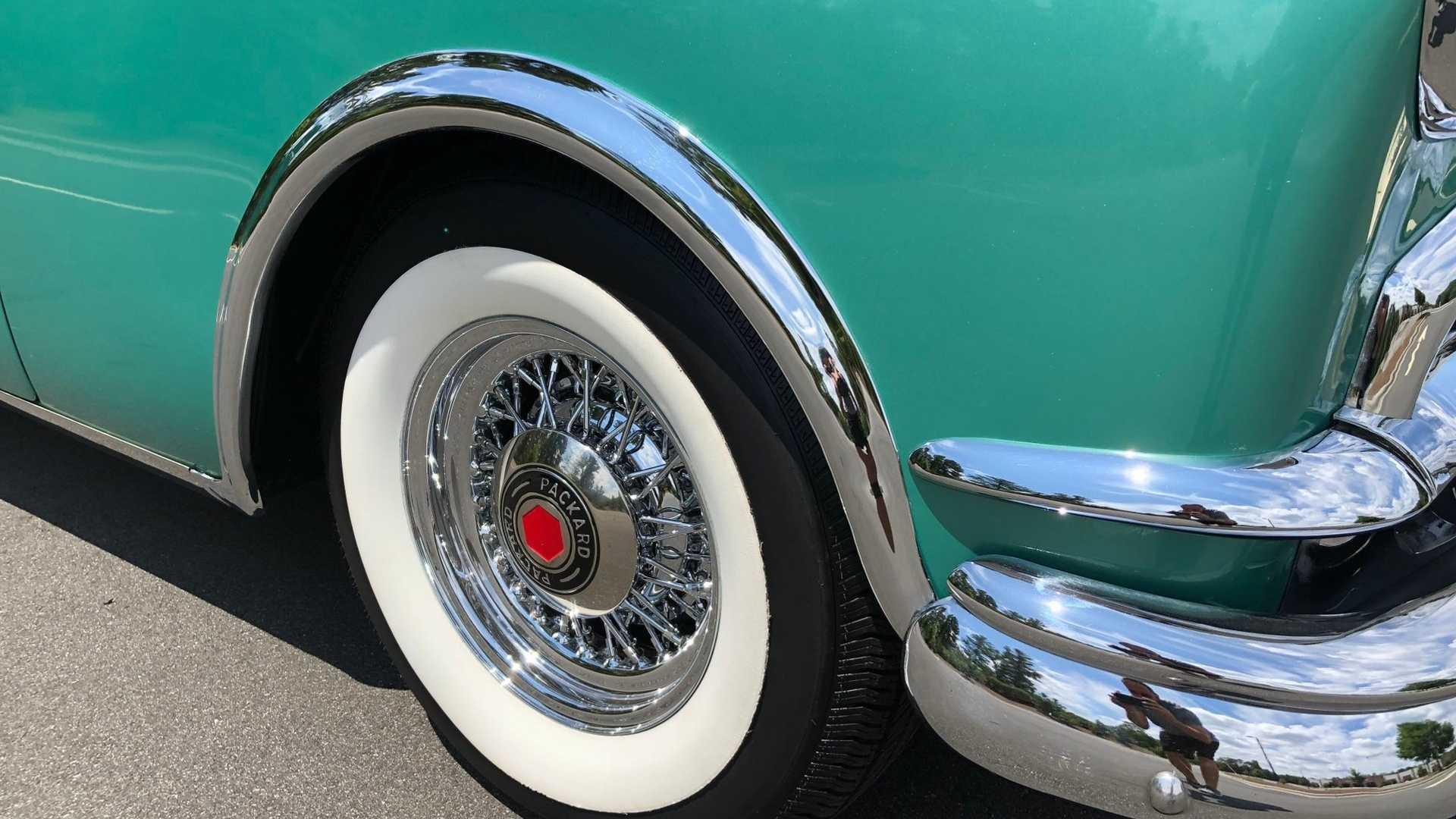 """[""""1953 Packard Caribbean Convertible Is A Work Of Art""""]"""