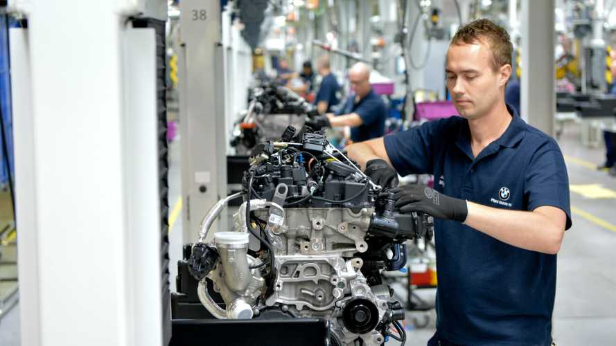 BMW stops producing some engines in the UK for export