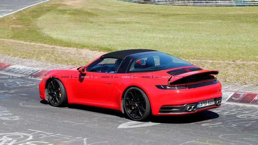 Porsche 911 Targa 2020, fotos espía en Nürburgring