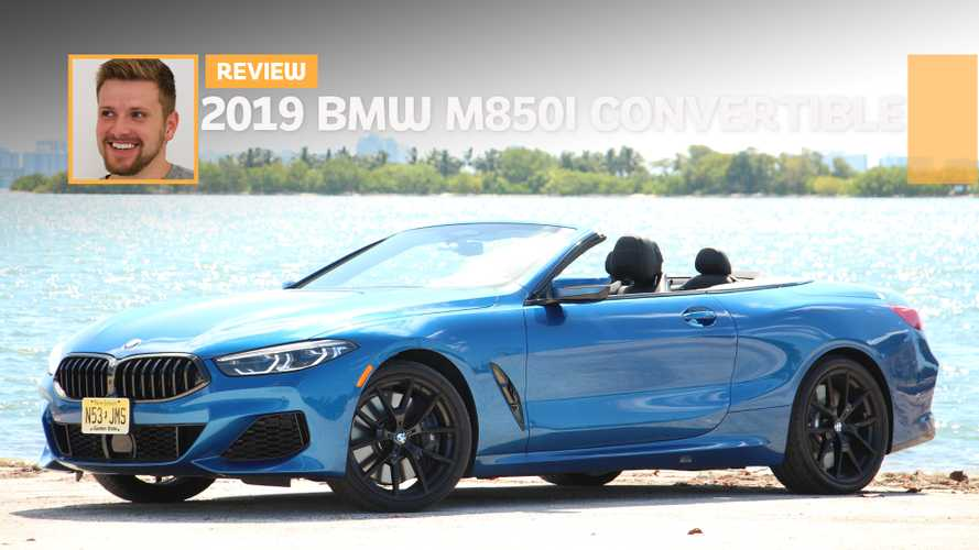 2019 BMW M850i xDrive Convertible Review: GT To A Tee
