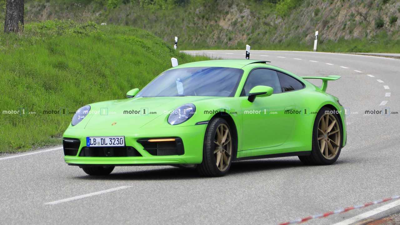 Porsche 911 prototipo 2019