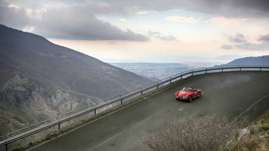 Chasing the Terre di Canossa Rally across Tuscany