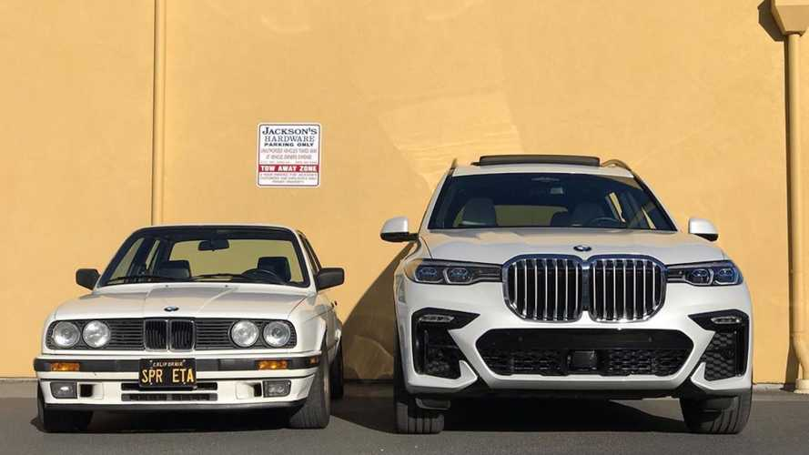 You Shouldn't Miss Seeing BMW X7 Grille On E30 And Vice Versa