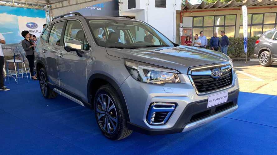 Novo Subaru Forester desembarca no Brasil por R$ 159.990