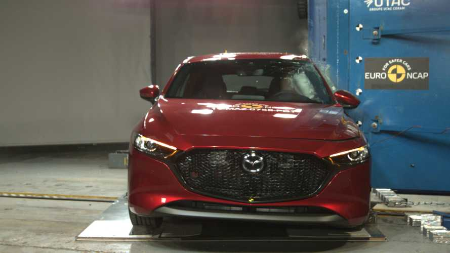 Mazda3, Euro NCAP crash test