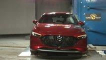 Mazda3, Euro NCAP crash test