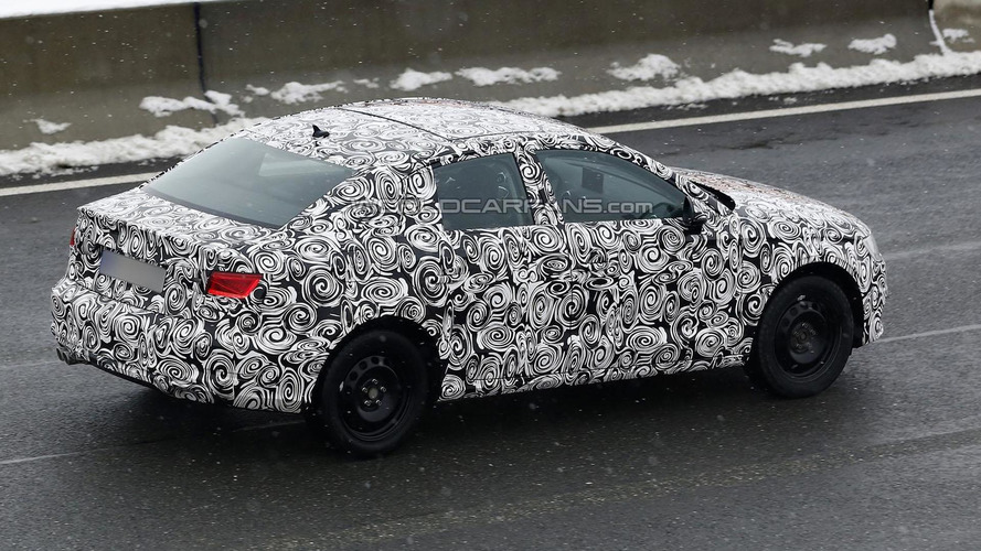 2014 Audi A3 sedan spied for the first time