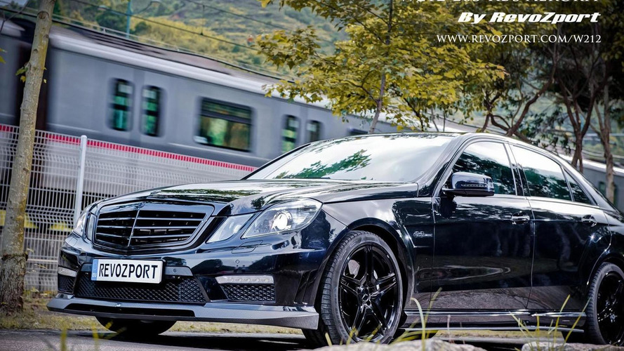 Revozport introduces a new styling program for the Mercedes E63 AMG
