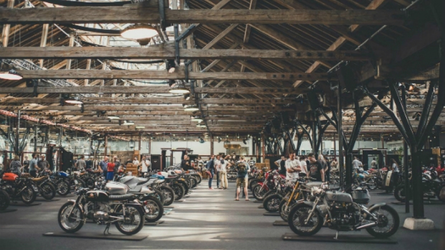 Le moto più belle del Bike Shed London 2018