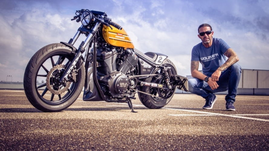 Yamaha XV 950 R Dragger by Marcus Walz, la nuova Intermot Custom Bike