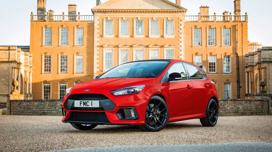 Ford Focus RS - Une série Red Edition avant de partir