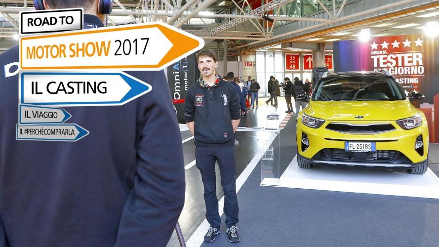 Motor Show 2017, ecco i primi LIVE Casting