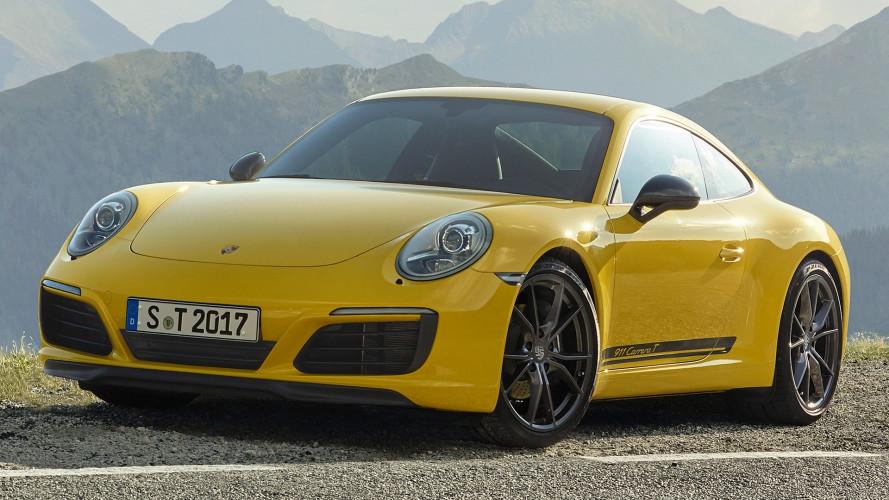 Porsche 911 Carrera T, fra turismo e sportività