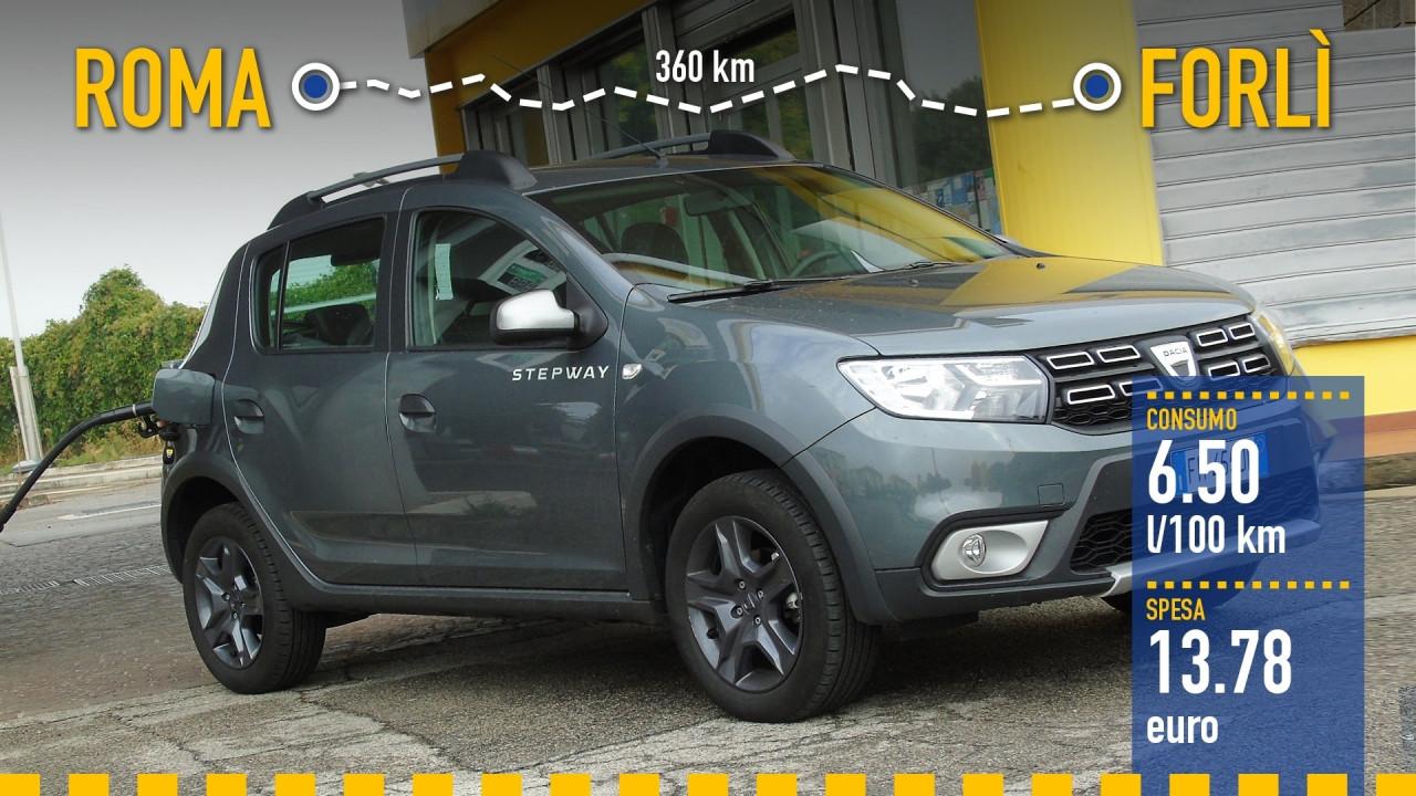 [Copertina] - Dacia Sandero GPL, la prova dei consumi reali
