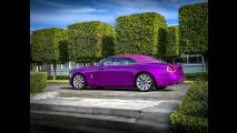 Rolls-Royce Dawn Fuxia Pebble Beach