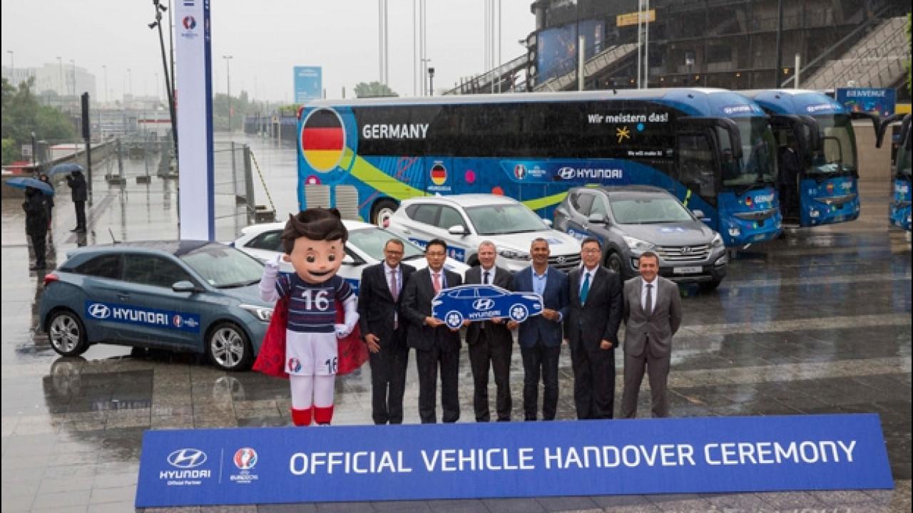 [Copertina] - UEFA EURO 2016, le auto ufficiali sono Hyundai