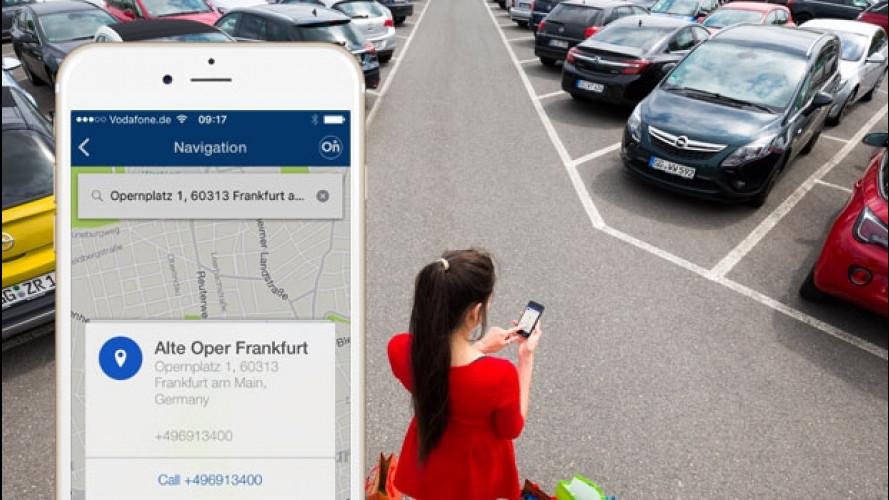 Opel OnStar, ora la destinazione si imposta sul cellulare