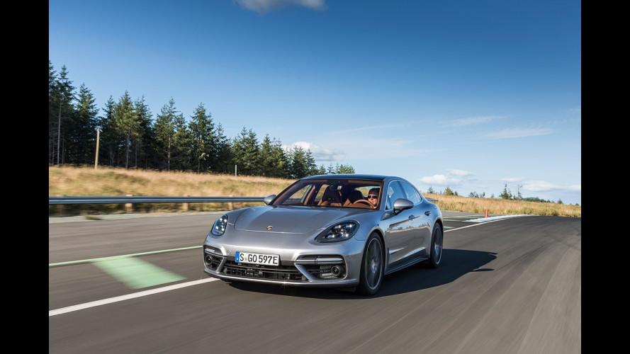 Porsche Panamera Turbo S E-Hybrid, la prova della plug-in da 680 CV