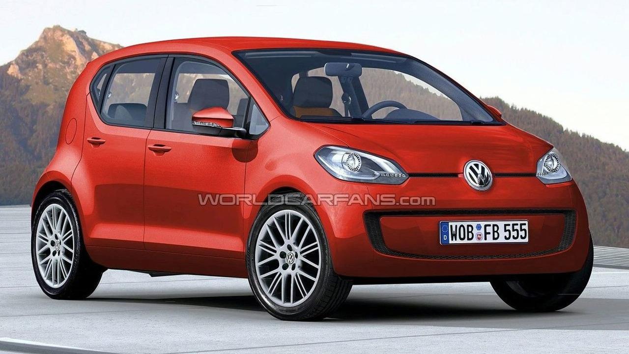 VW Lupo artist rendering