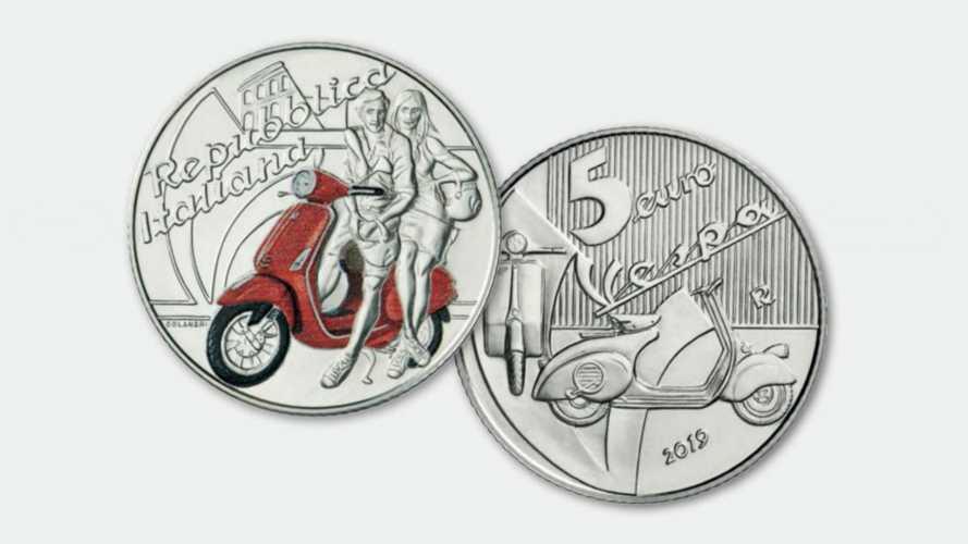 Vespa: una moneta celebrativa per i 70 anni