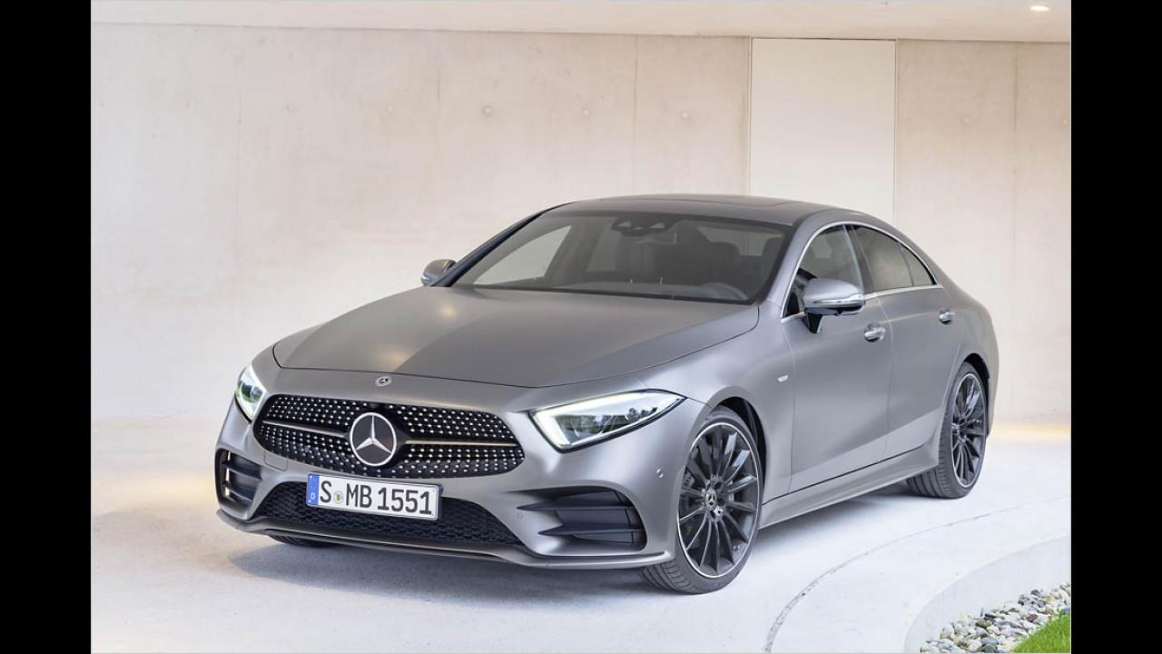 Mercedes CLS jetzt bestellbar