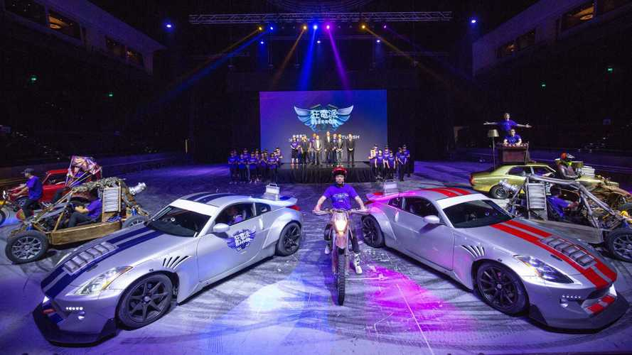 World's First Electric Car Stunt Show To Launch In China