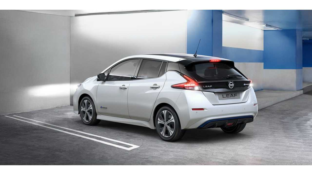 Nissan LEAF Sales Down Slightly In U.S. In November