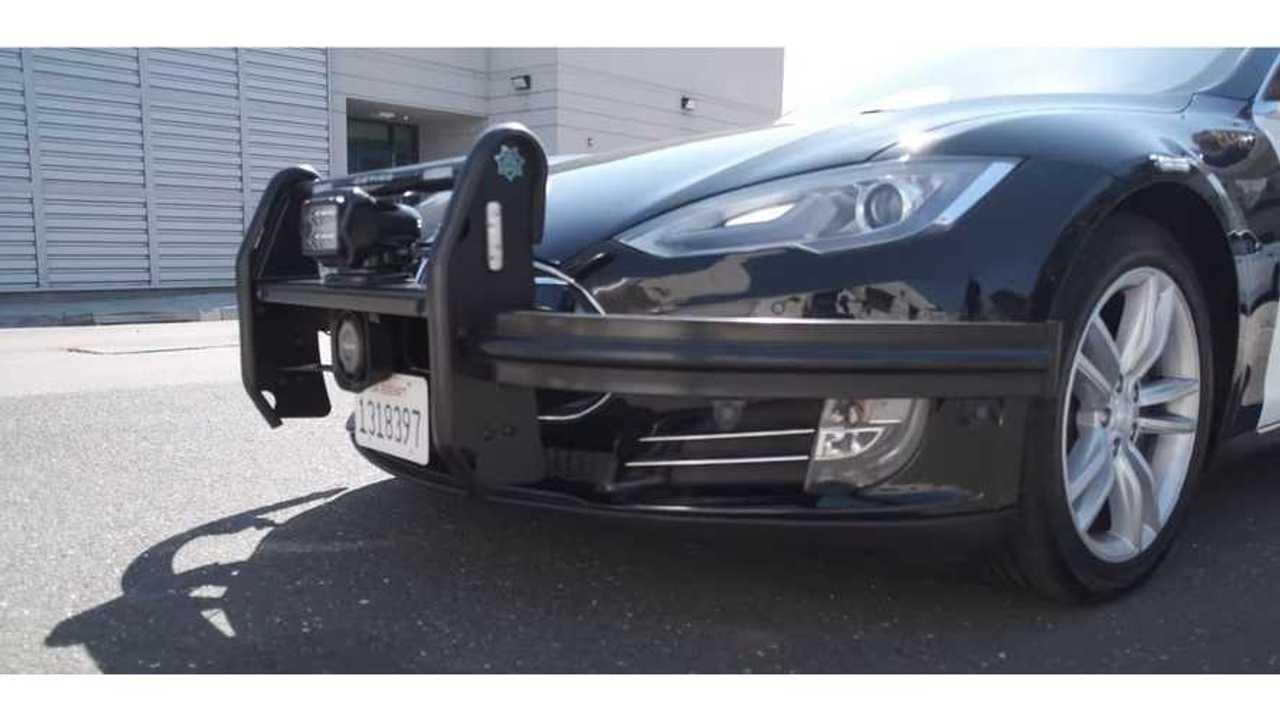 How Marijuana Led Denver To Acquire Its Tesla Model S Police Car