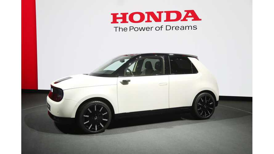 Honda e Prototype Is Beyond Adorable: Photos/Videos